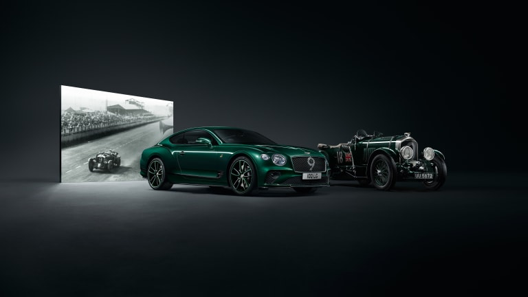 Mulliner celebrates 100 years of Bentley with a special edition Continental GT