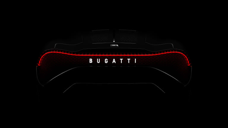 "Bugatti reveals the 12 million dollar ""La Voiture Noire"""