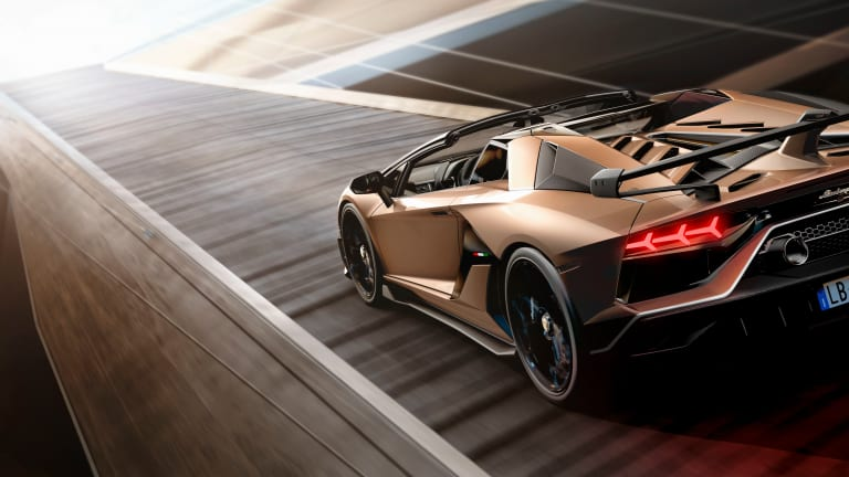 Lamborghini reveals the Aventador SVJ Roadster