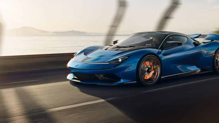 Pininfarina reveals its first car, the all-electric Battista