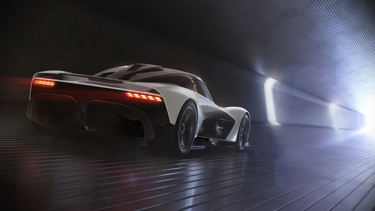 Aston Martin reveals the 'Son of Valkyrie'