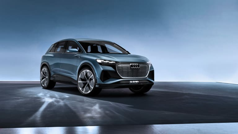 Audi previews its upcoming Q4 e-tron
