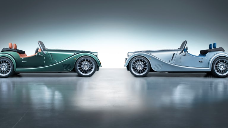 Morgan's next-generation Plus Six is powered by the new Supra engine