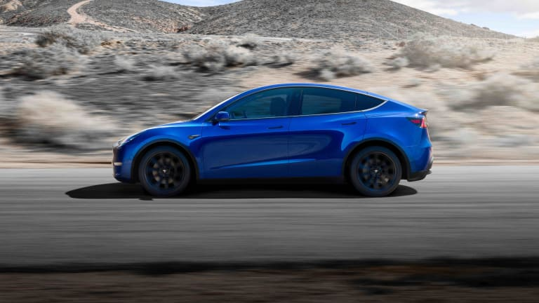 Tesla reveals its new crossover, the Model Y