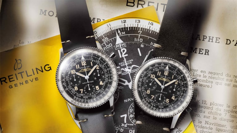 Breitling releases a re-edition of one of Ref. 806 Navtimer