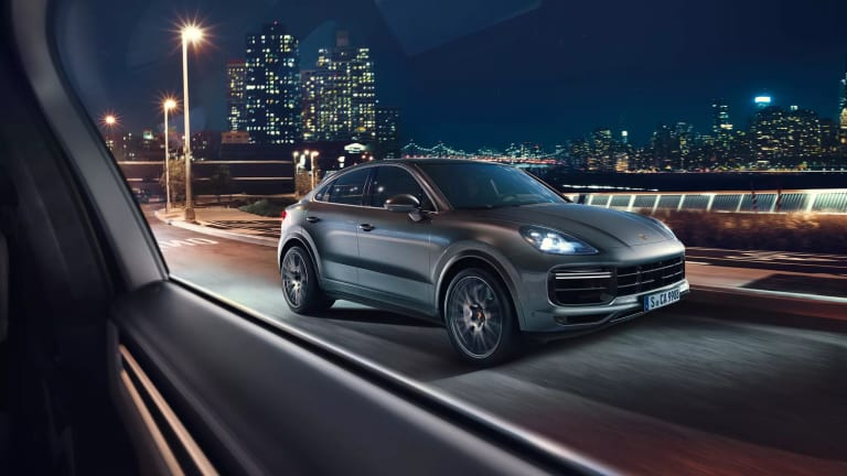 Porsche reveals the Cayenne Coupe
