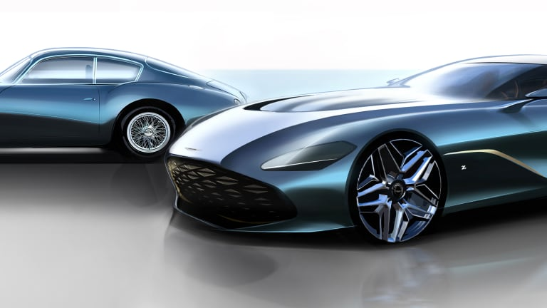 Aston Martin previews the DBS GT Zagato