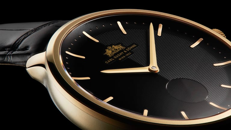 Carl Suchy & Söhne releases its gold collection