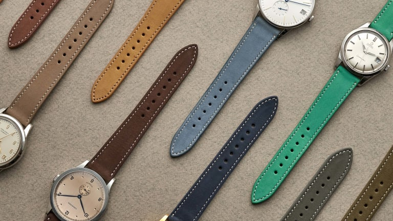Hodinkee releases the perfect watch strap for spring