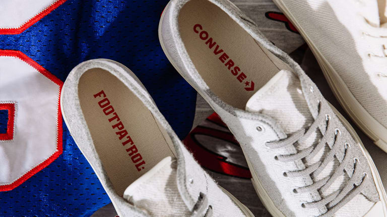 Converse and Foot Patrol team up on a limited edition Chuck Taylor and Jack Purcell