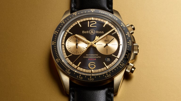 Bell & Ross releases the BR V2-94 Bellytanker in bronze