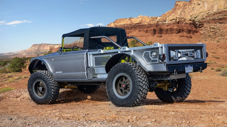 Jeep reveals its six concepts for the 53rd annual Moab Easter Jeep Safari