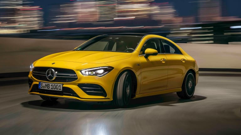 Mercedes aims to make AMG performance more accessible with the CLA 35