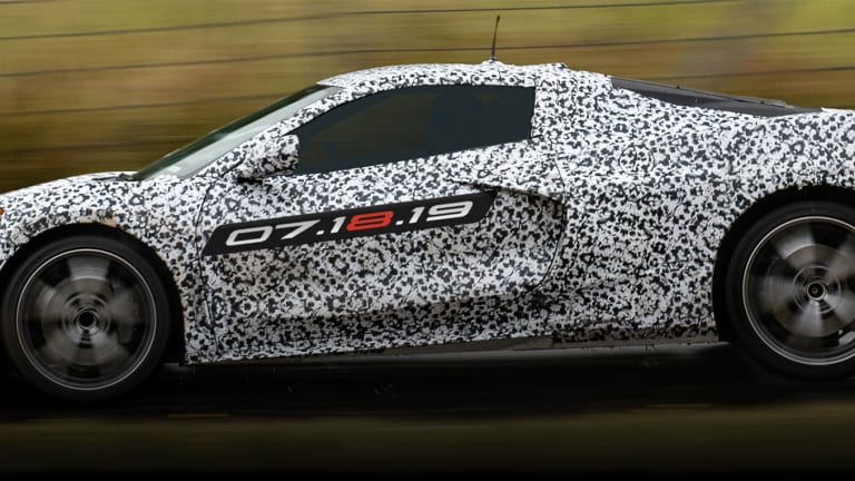 Chevrolet announces the eighth-generation Corvette