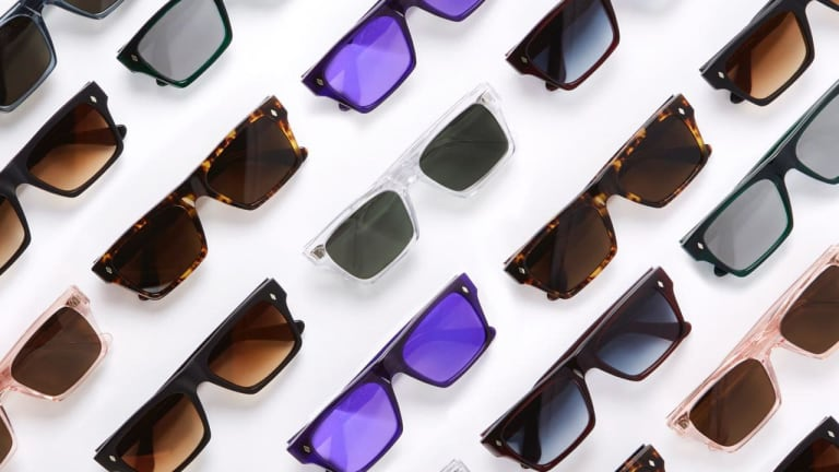 Paul Smith's eyewear collection comes home to London