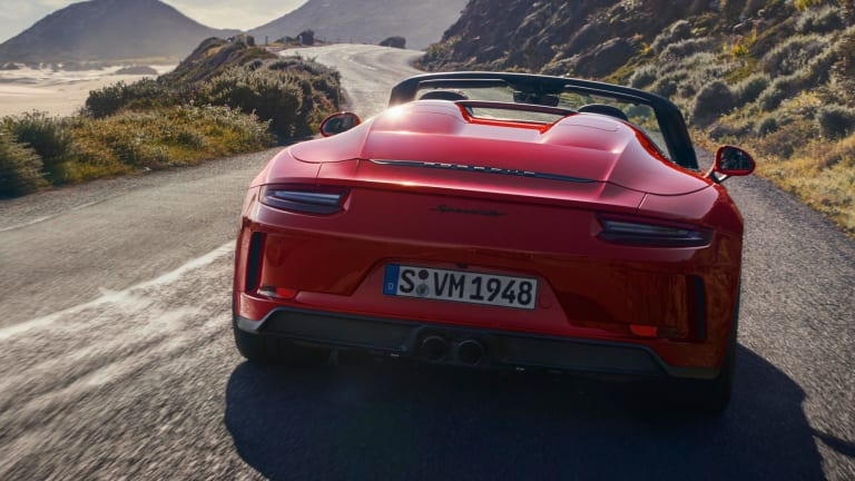 Porsche reveals the production version of the 2019 911 Speedster