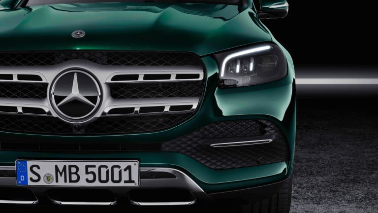 Mercedes' full-size GLS SUV receives an ultra-luxurious redesign