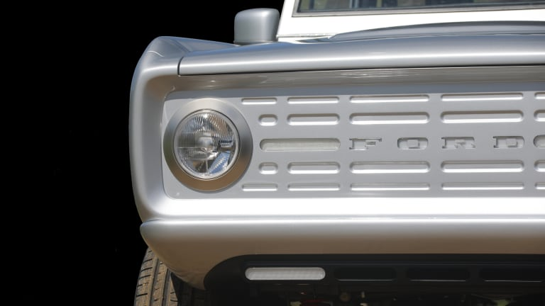 Zero Labs is developing the world's first fully electric Ford Bronco