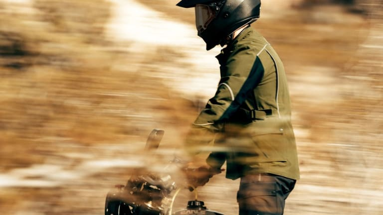 Aether's new Divide Motorcycle Jacket is designed for long-distance journeys