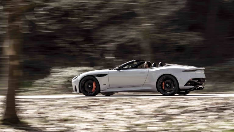 Aston Martin unveils their fastest convertible ever