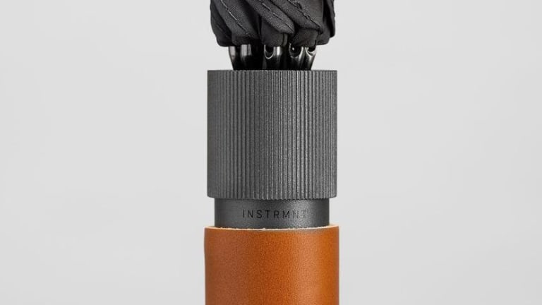 Instrmnt's new umbrella is so beautifully crafted you won't want to get it wet