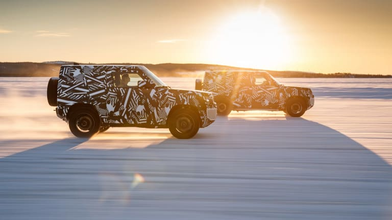 Land Rover celebrates World Land Rover Day with a new sneak peek of the 2020 Defender