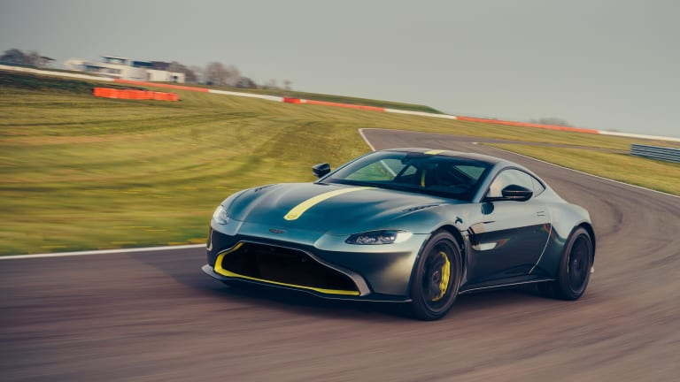 Aston Martin is putting a manual gearbox in the limited edition Vantage AMR