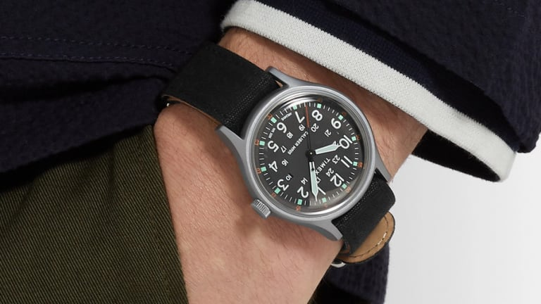 Timex releases an exclusive MK1 Camper with Mr Porter