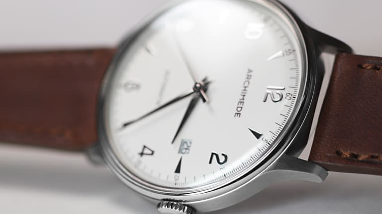 Archimede's latest model is inspired by 1950s dress watches