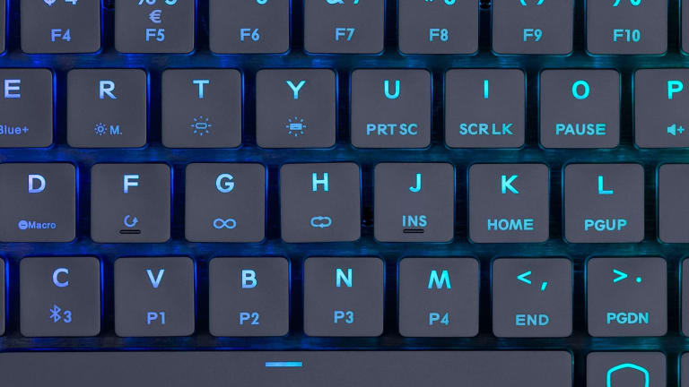 Cooler Master's SK261 offers a mechanical keyboard with a slimmer, portable design