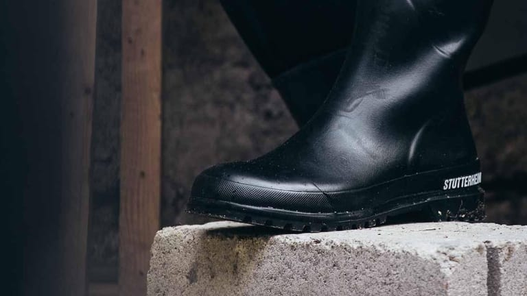Stutterheim adds a rain boot to its Private Designs collection