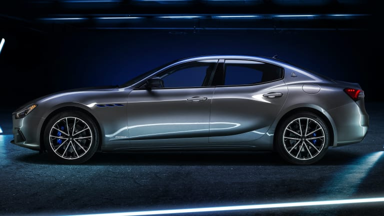 Maserati launches its first electrified model, the Ghibli Hybrid