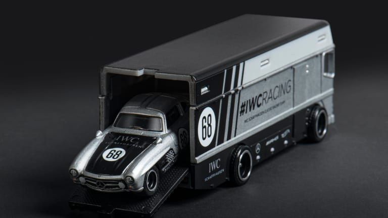 IWC CEO Christoph Grainger-Herr and Hot Wheels launch a replica of the IWC Racing 300SL