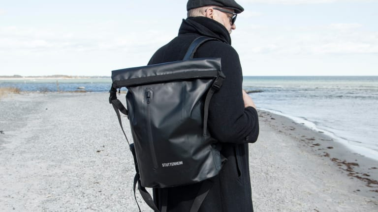 Stutterheim launches a new range of water-resistant bags