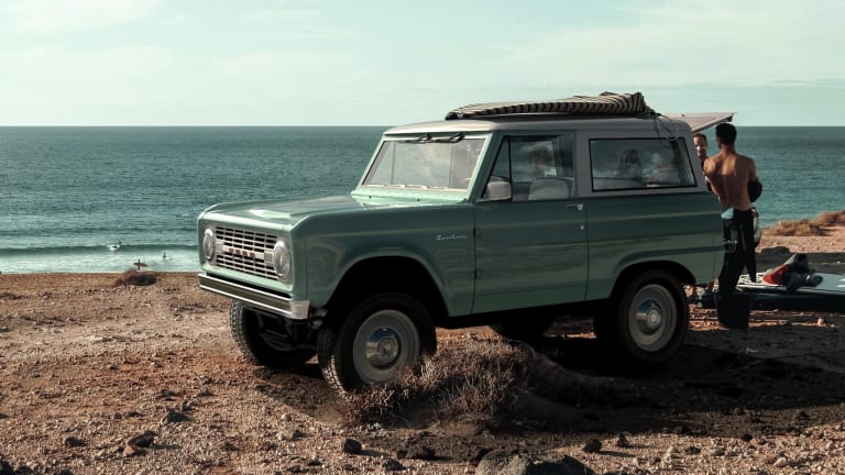 Zero Labs announces an extended range version of its all-electric Bronco