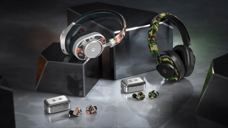 Master & Dynamic launches a headphone collection with BAPE