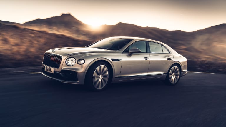 Bentley's new Flying Spur can now be fitted one with 3D-machined wood inserts