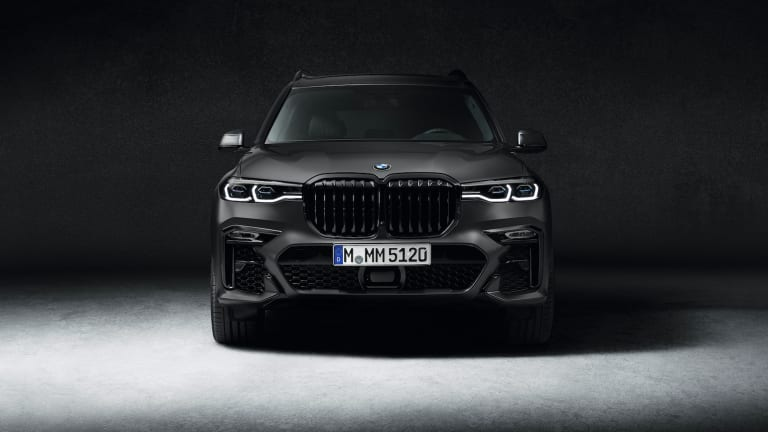 BMW introduces a new Dark Shadow Edition of the flagship X7 SUV