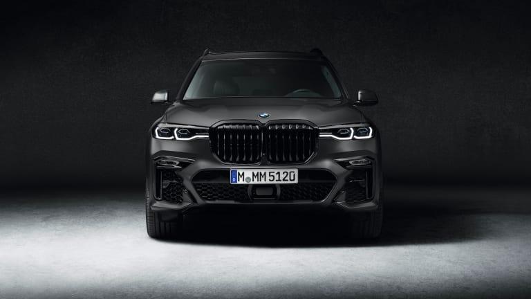 BMW introduces a new Dark Shadow Edition of the flagship X7 SUV