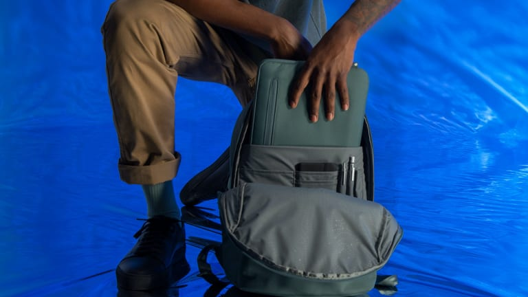 Incase teams up with BIONIC to create a collection of bags and accessories made from recycled ocean waste