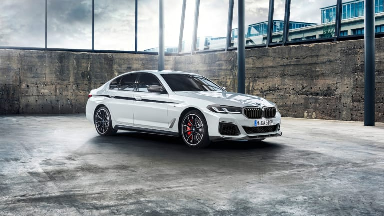BMW reveals its M Performance Parts for the new 5 Series models