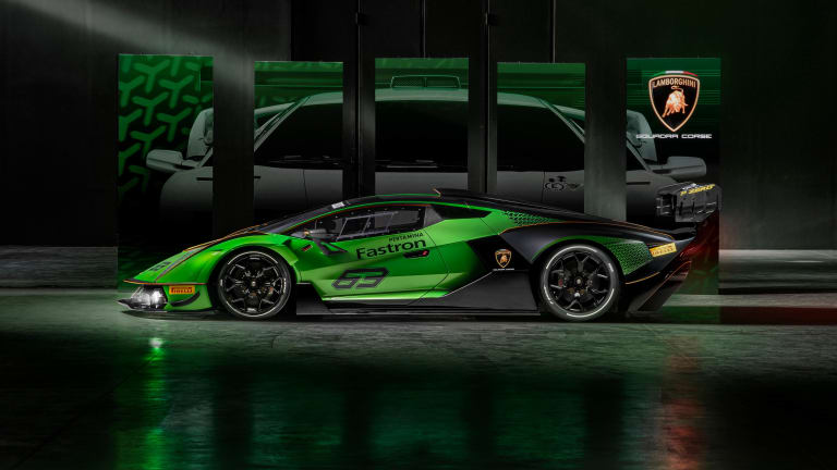 Lamborghini puts its most powerful V12 inside the track-only Essenza SCV12
