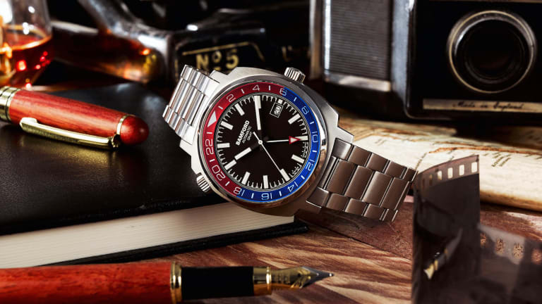 """Bamford London expands its GMT collection with its own take on the """"Pepsi"""""""