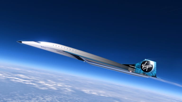 Virgin Galactic gets ready to go supersonic with the reveal of their first Mach 3-capable aircraft concept