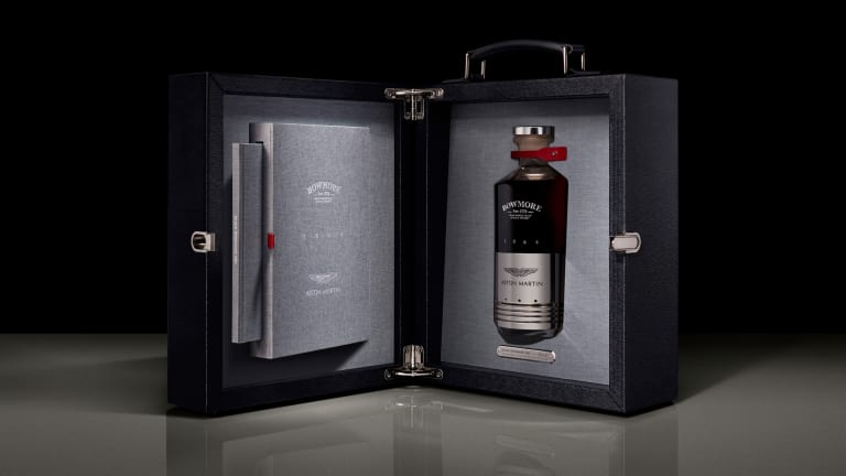 Bowmore and Aston Martin release a whisky inspired by the DB5