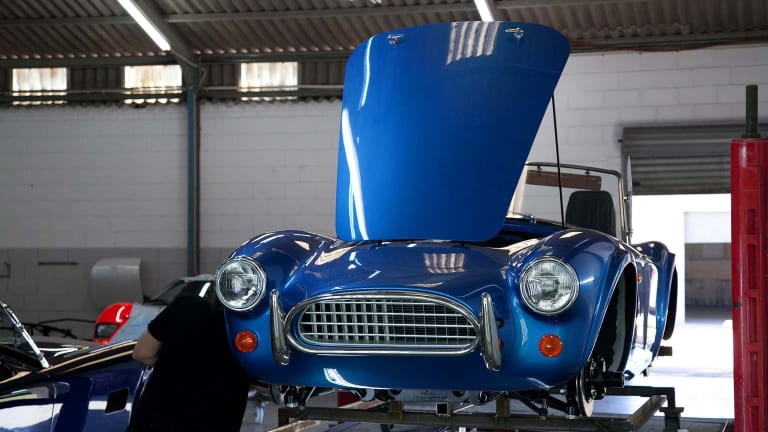 AC Cars announces an electric version of the AC Cobra Series 1 roadster