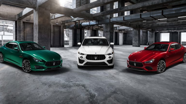 Maserati unveils its new Ferrari-powered Trofeo collection
