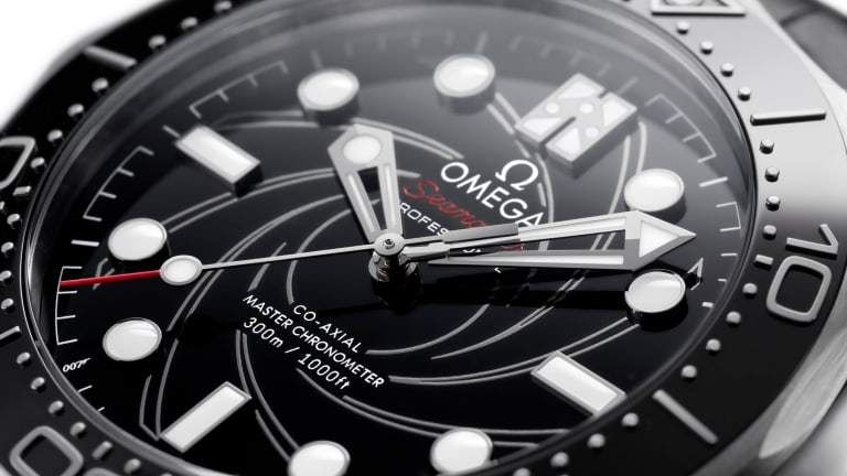 Omega reveals a new Seamaster Diver 300M James Bond edition in Platinum-Gold