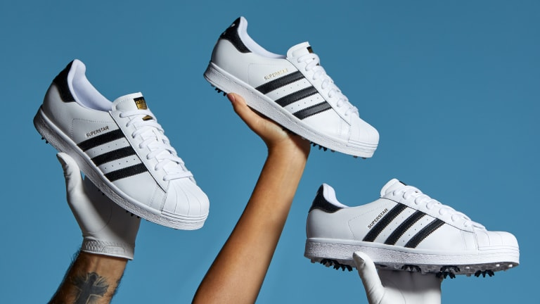 adidas introduces a limited edition version of the Superstar for the golf course