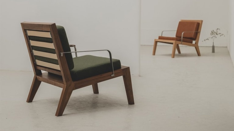 Instrmnt applies their minimalist design language to a new lounge chair